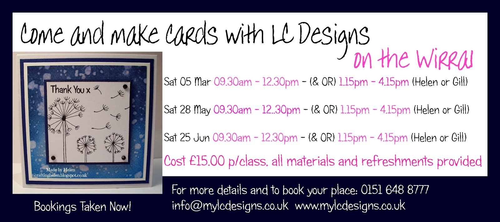 LC Designs Workshops