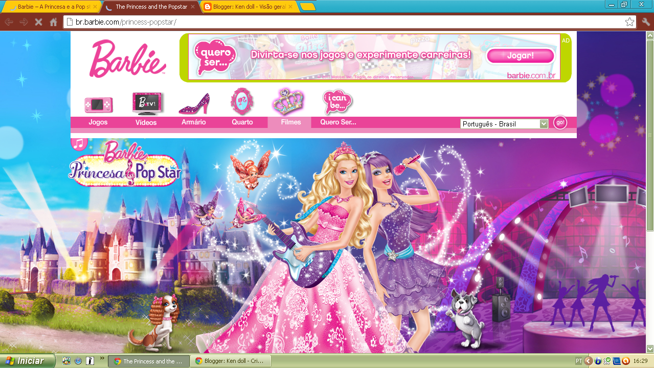 Watch Barbie The Princess And Pop Star