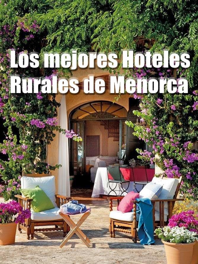 Hoteles Rurales en Menorca