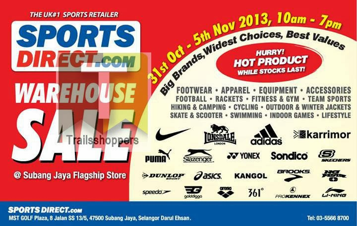 Sports Direct.com Warehouse Sale 2013