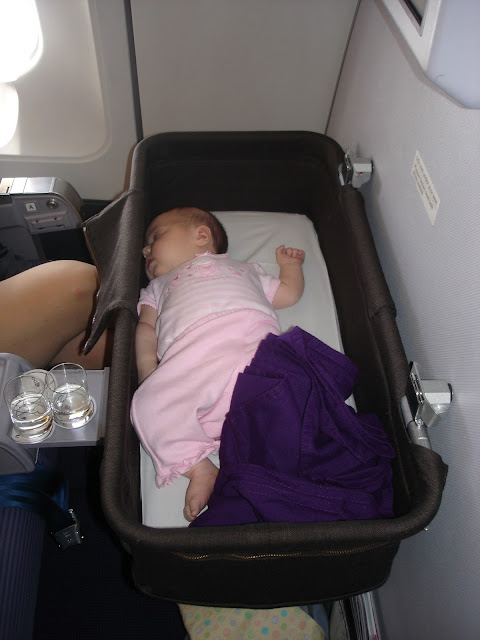 Bassinet In Flight