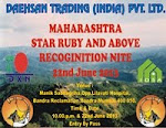 Recognition Nite on 22nd June 2013 at Bandra Mumbai
