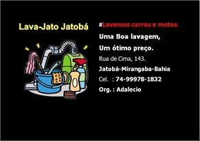 LAVA-JATO JATOBÁ