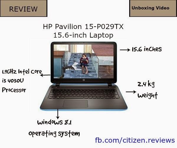 HP Pavilion 15p029tx Review