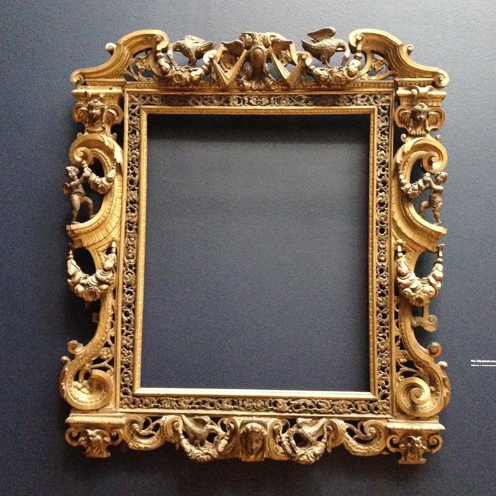 Framemaker: Sansovino Frames Exhibition at the National Gallery
