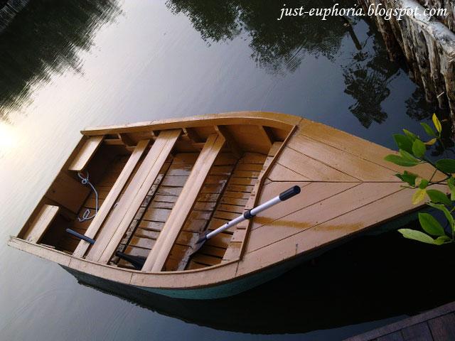 Boat at Taman Wisata Alam PIK