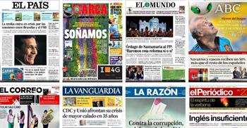 todos los diarios del mundo en Covertimes