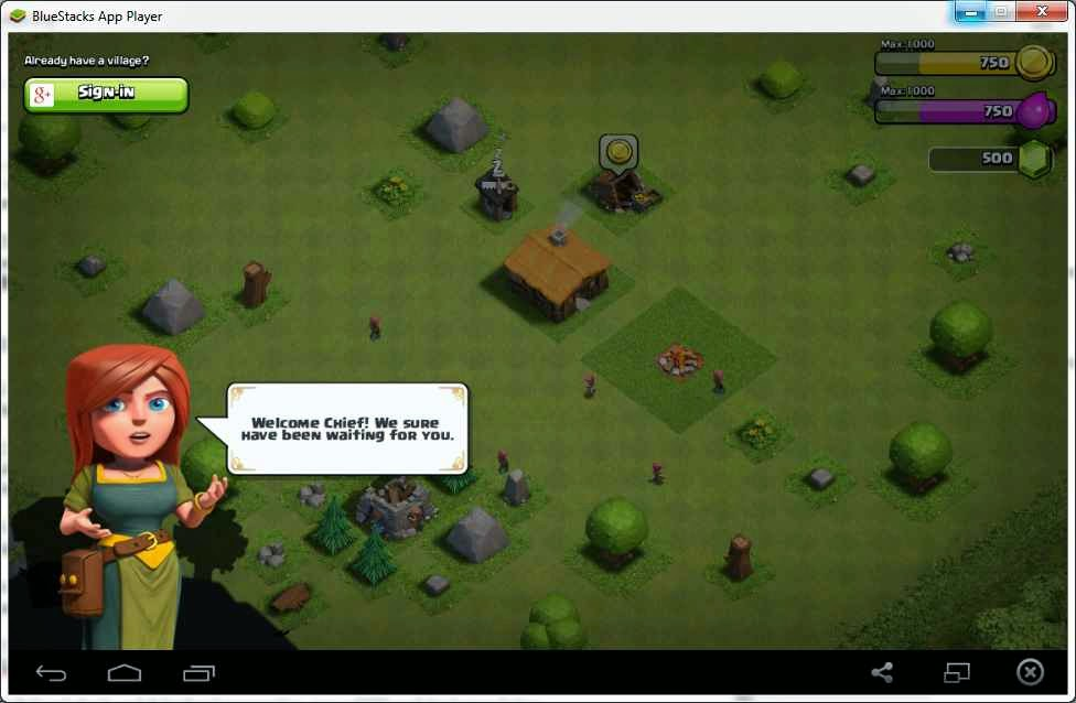 Berhasil memainkan Game Clash of Clans (COC) di PC & Laptop