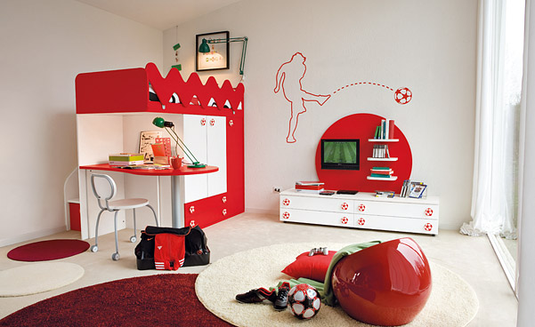 Chambre sport d coration - Deco basketball chambre ...