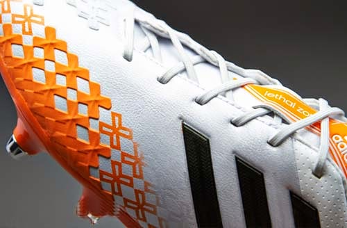 2014 Adidas Predator LZ with white and orange