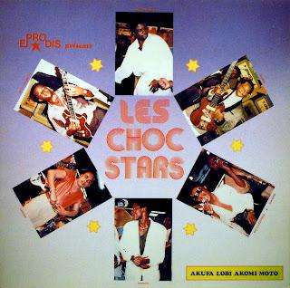 Les Choc Stars - Akufa LobiAkoni Moto, Espera 1986