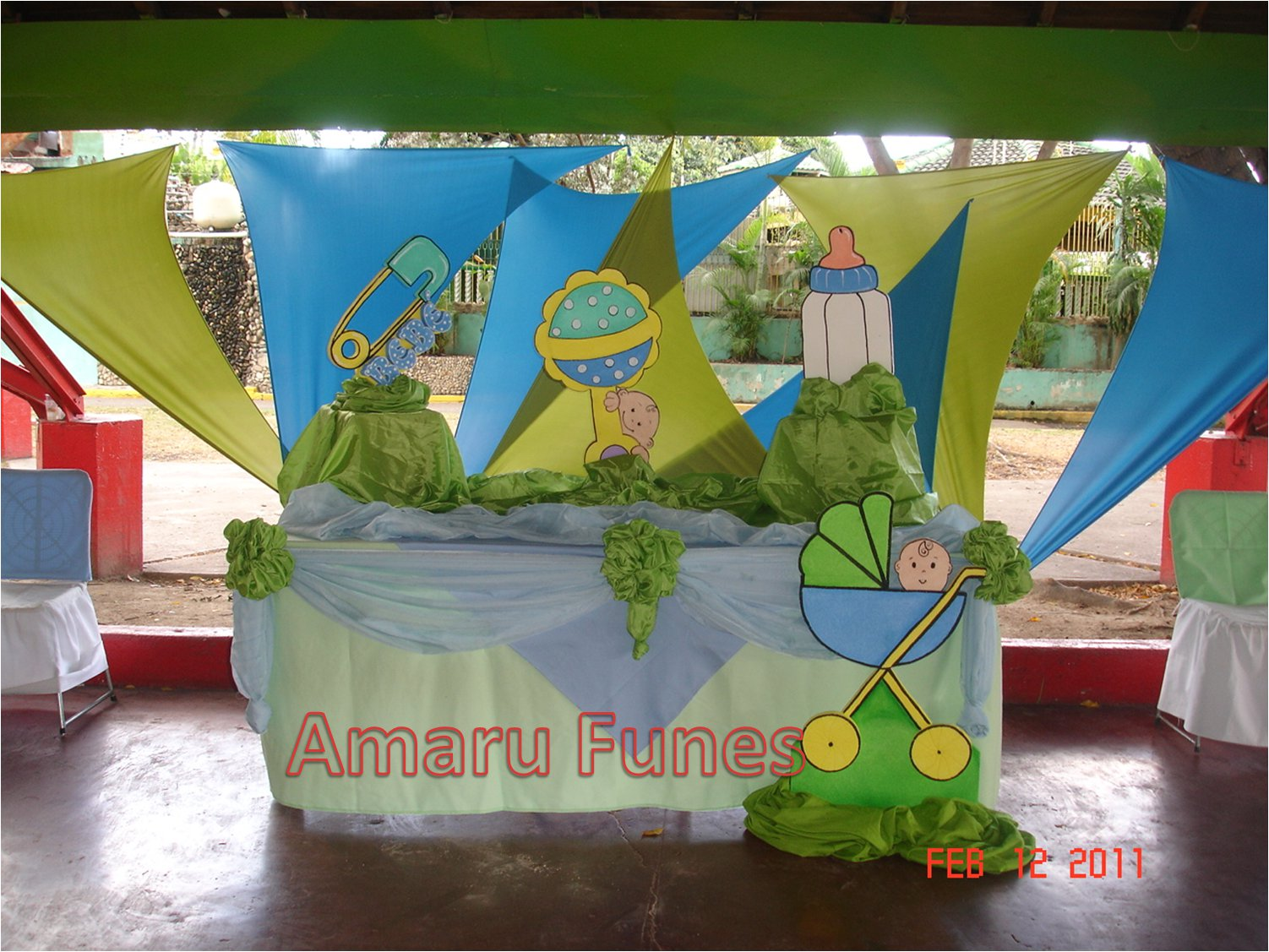 Amaru Funes Decoraciones Decoracion Baby Shower