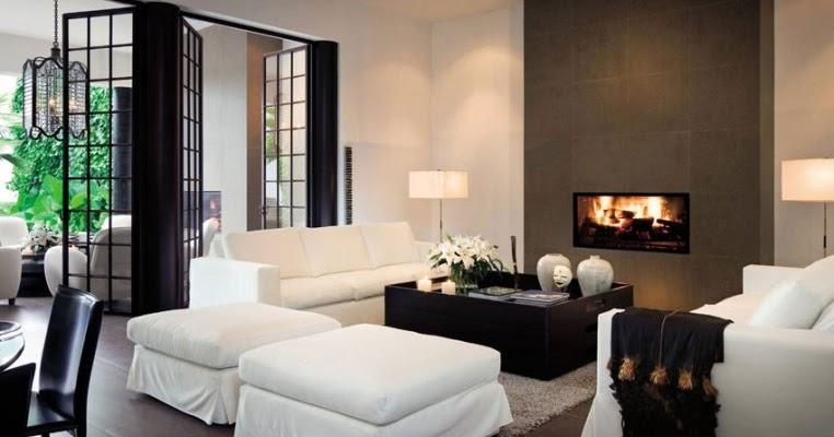 Decandyou ideas de decoraci n y mobiliario para el hogar - Salones modernos con chimenea ...