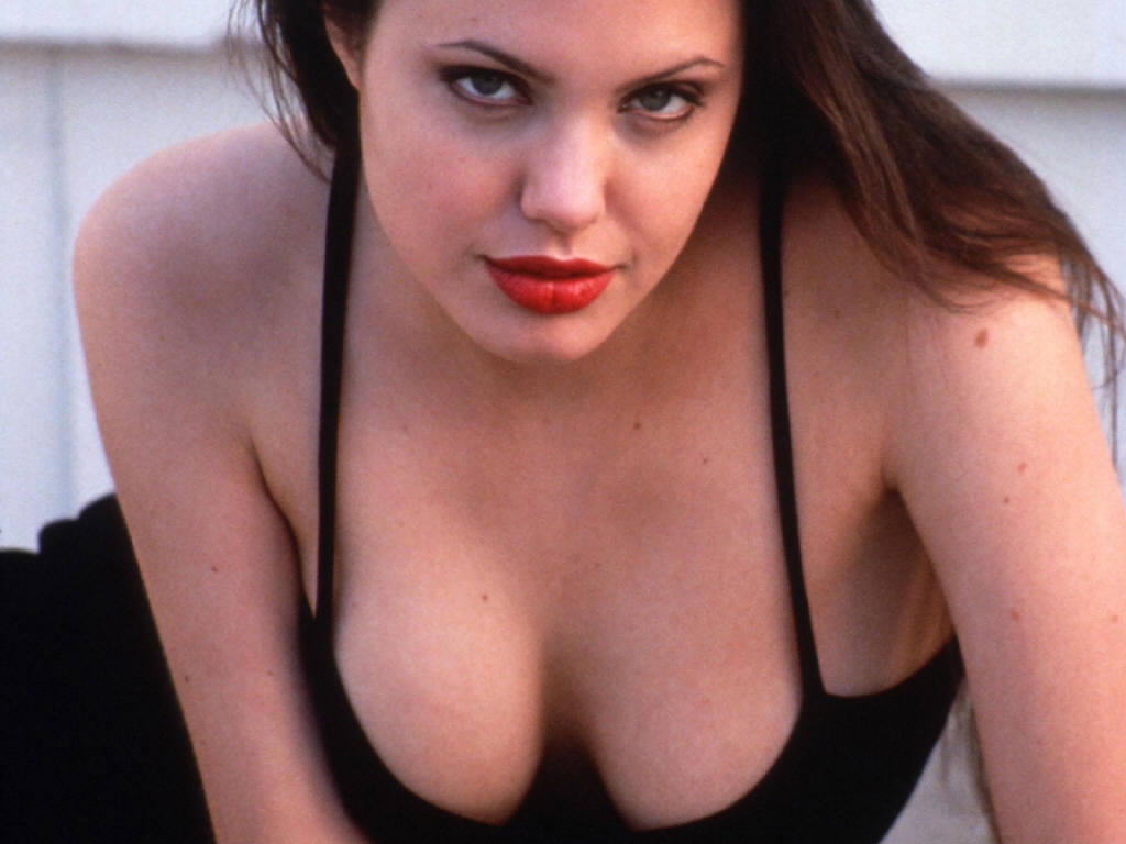 Think, that Angelina jolie big tits quite You