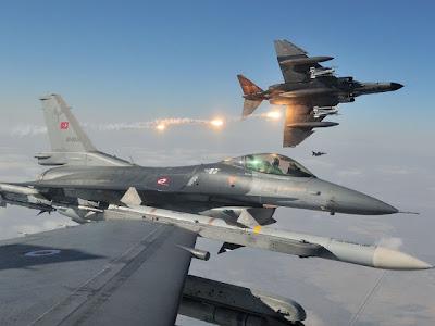 Ξεσάλωσαν οι Τούρκοι και έστειλαν 10 μαχητικά σήμερα στο Αιγαίο !..''.Χωρίς εντολή κατάρριψης ''