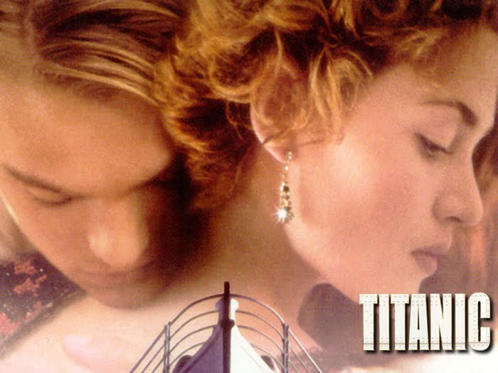 Movie wallpaper : Leonardo Dicaprio and Kate Winslet