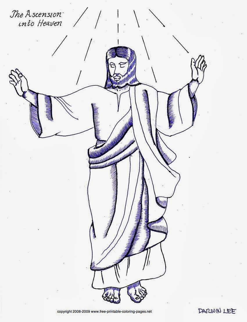 coloring pictures of jesus