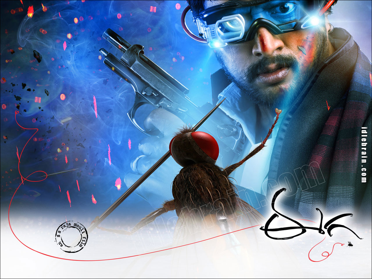 eega wallpapers   sudeep nani and samantha   south picture