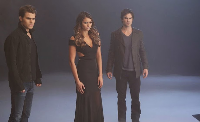 The Vampire Diaries - Season 6 - New BTS Cast Promotional Photos