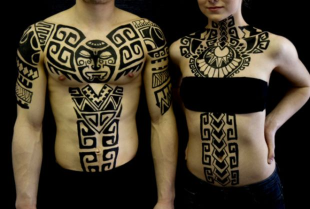 Polynesian body art  West island of Montreal based henna and body