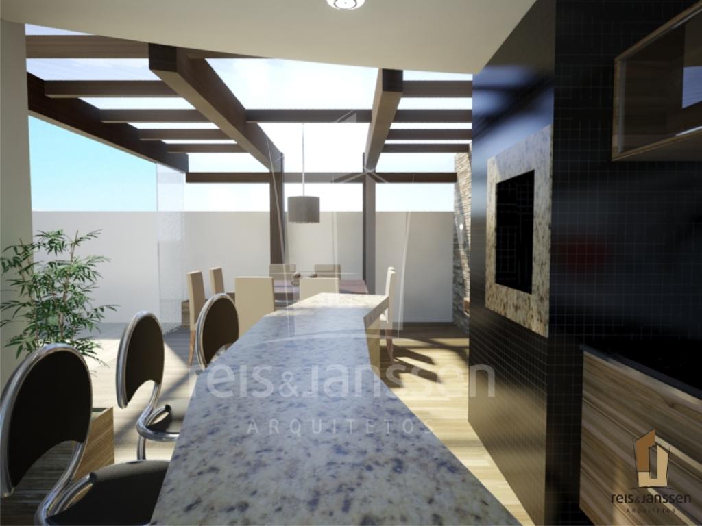 Imagens de #7A7051 Fechamento em policarbonato e bancada de granito 1024x768 px 3704 Banheiros Por Arquitetos