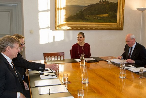 The Meeting Of Crown Princess Victoria's Foundation At The Royal Palace