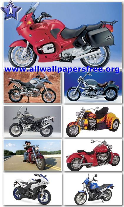 60 Amazing Motorcycles HD Wallpapers 1366 X 768 [Set 3]