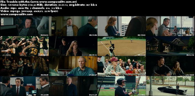 Trouble with the Curve DVDRip Subtitulos Español Latino Película 2012