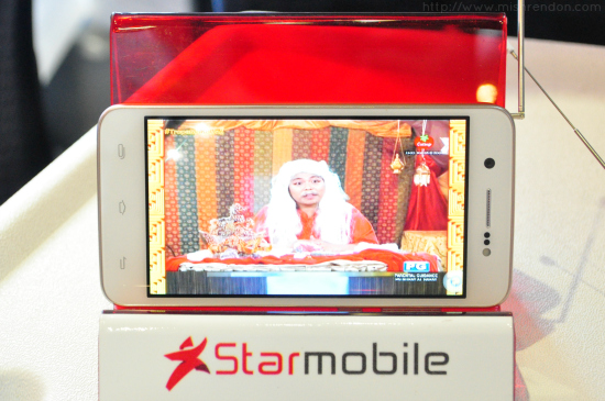 Starmobile Launches PH's First Line of Digital TV Phones - Knight Vision, UP Max, and UP Vision