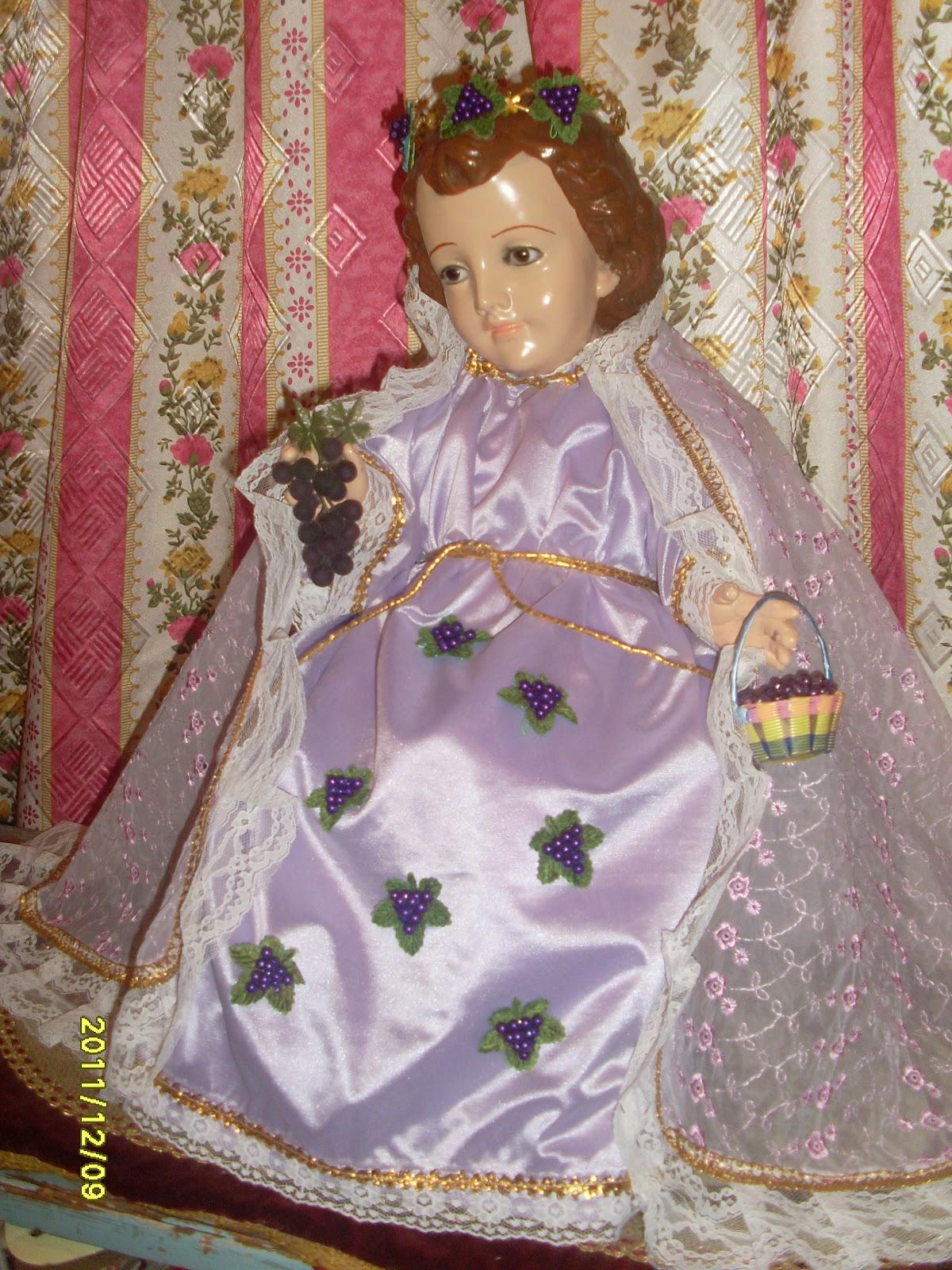 Creaciones originales para Niño Dios Sta. Matildita: El Santo Niño ...