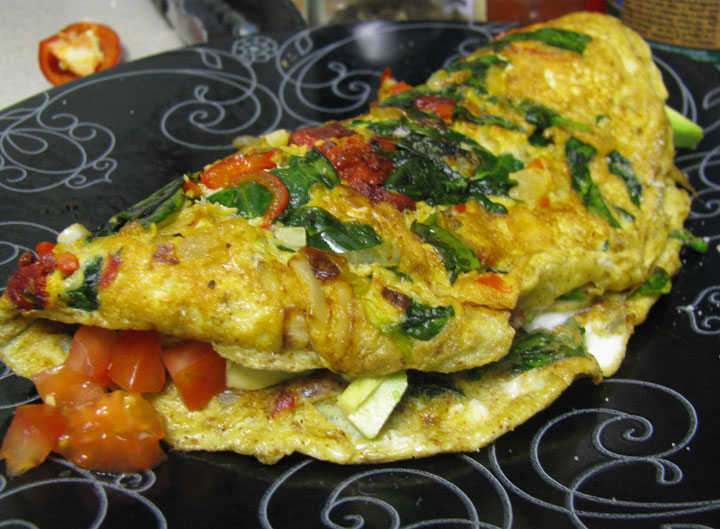 90 Days and Mexican Omelet