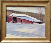 """Winter Barn"""
