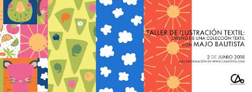 ILUSTRACIÓN TEXTIL: diseño de una colección // 2 de junio