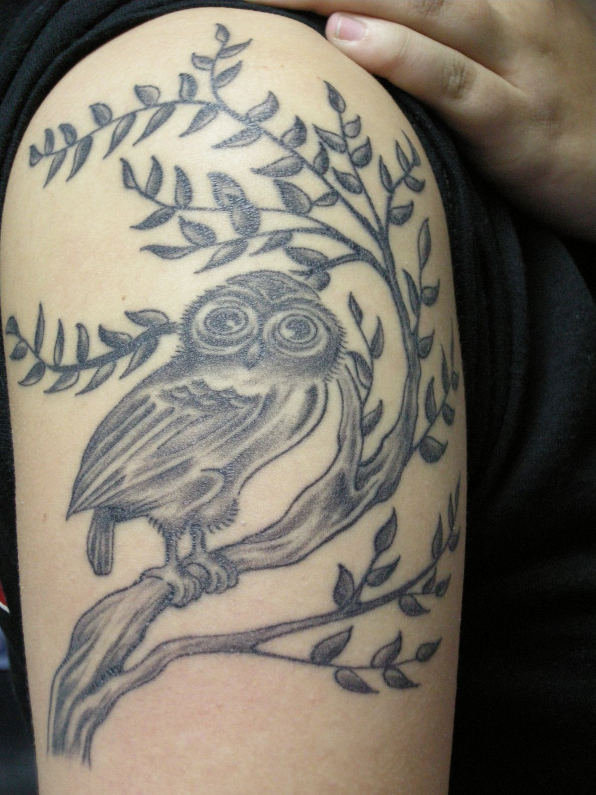 Exclusive tattoos for men photo dunia for Cool upper arm tattoos