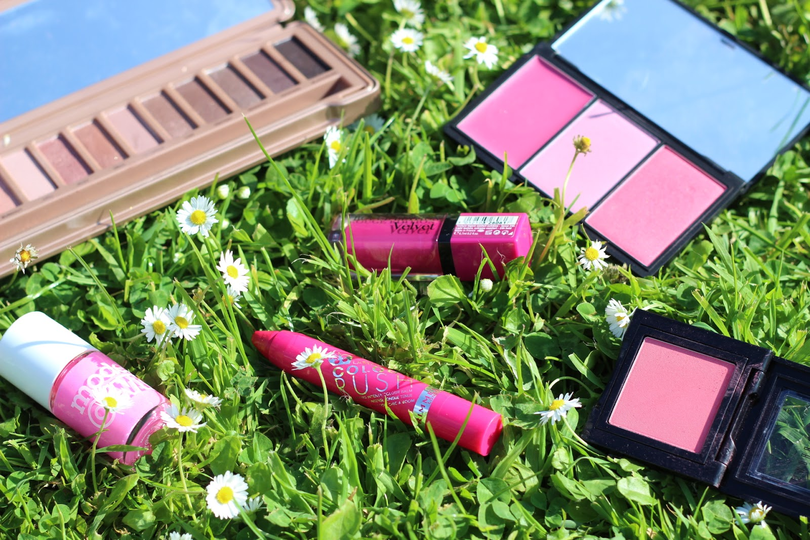 pink beauty items for summer