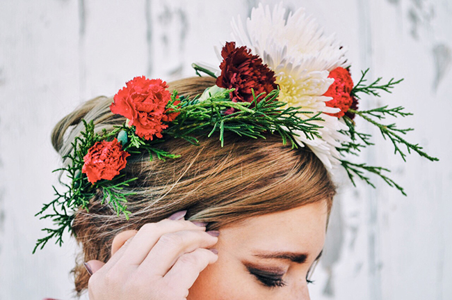 floral crown DIY - Cleveland Ohio Fashion