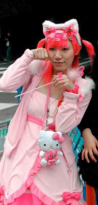 Hello Kitty Harajuku fashion