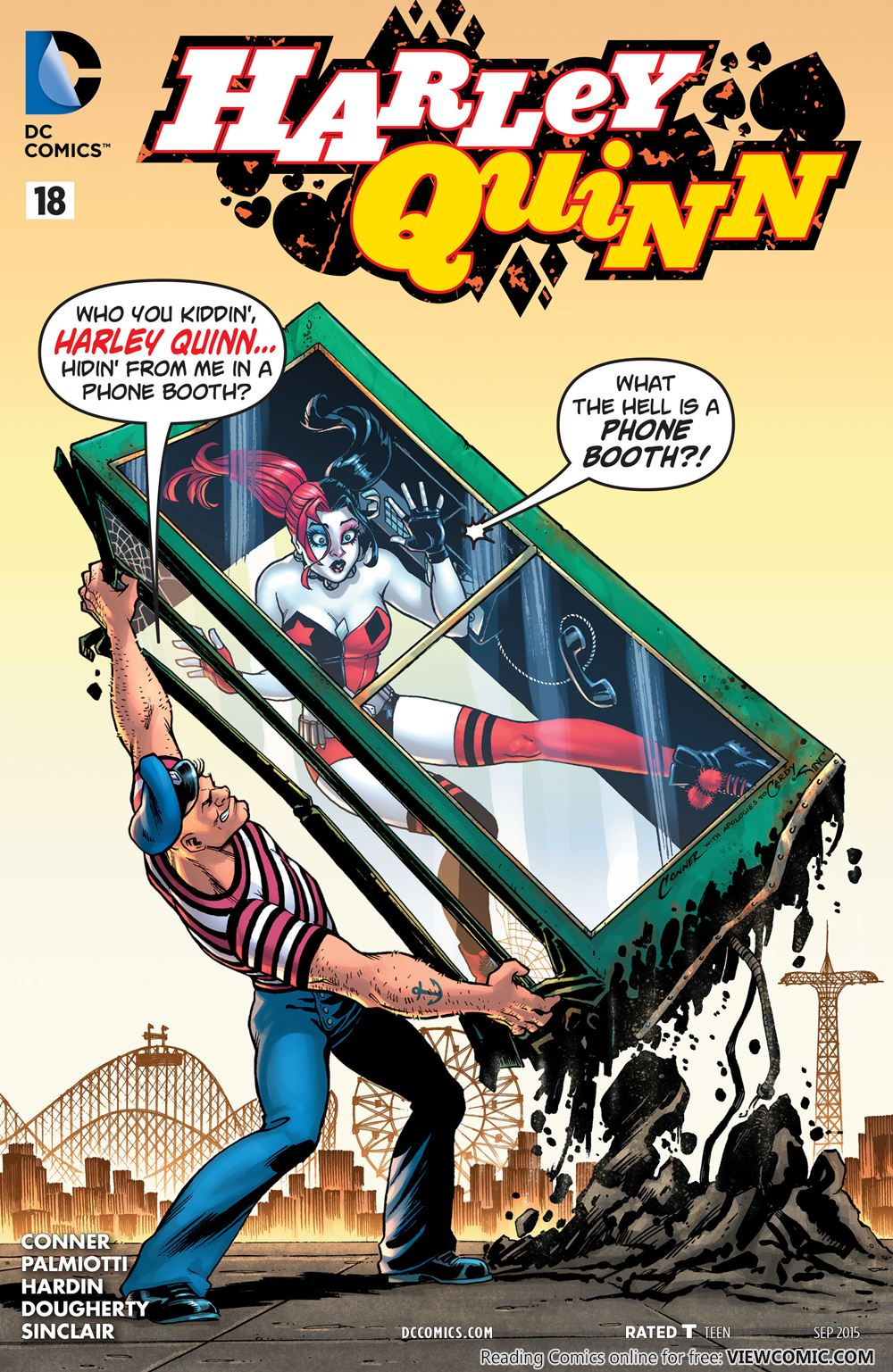 harley quinn reading comics online for free page 4