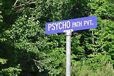 Panneaux comiques - Page 4 Psychopath