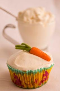 Cupcakes de zanahoria y nata