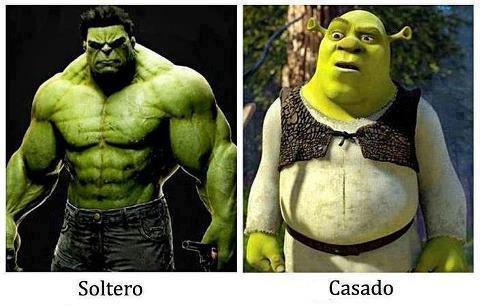 IMAGENES PARA COMPARTIR: SOLTERO A CASADO