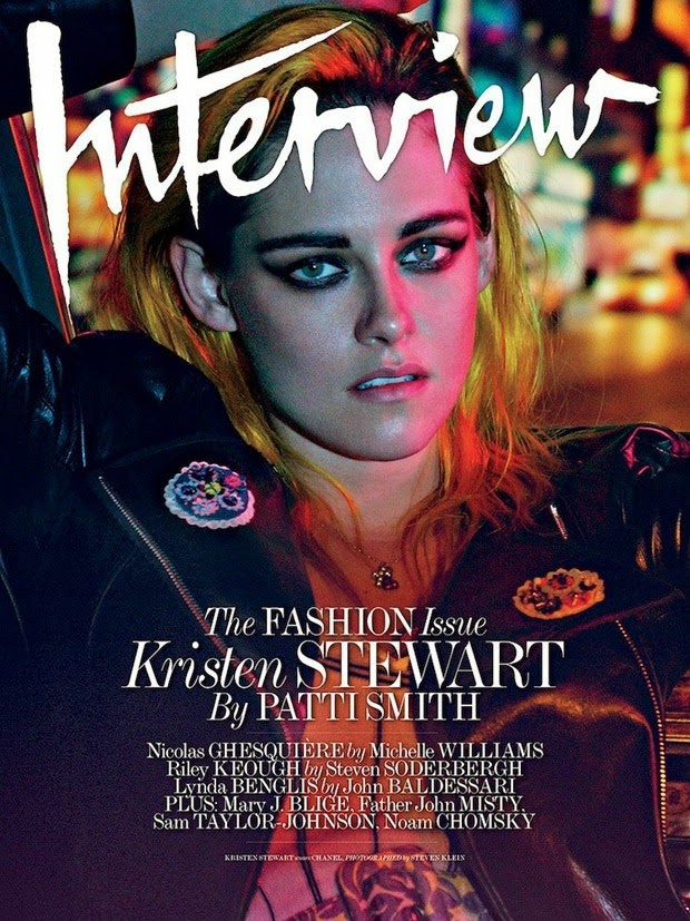 Kristen Stewart is eccentric for Interview Magazine's March 2015 cover story