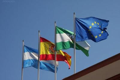 Día de Europa. Conmemoraciones y banderas. Olga Casal