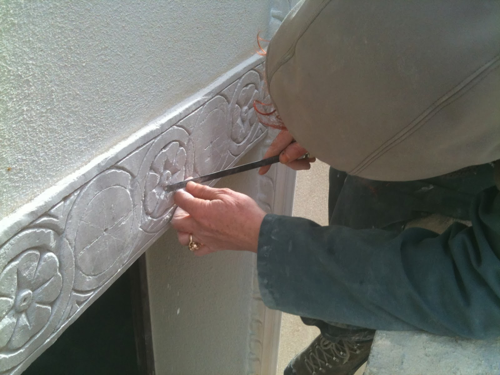 Tadelakt lime plaster stucco veneziano pl tre paysan de haute provence co - Comment faire tadelakt ...