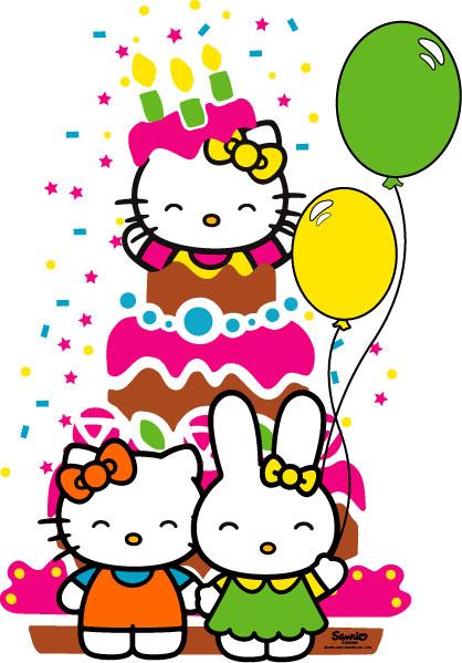 My english class happy happy happy birthday paola v - Hello kitty birthday images ...