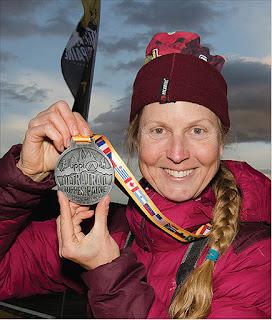 Achilles tendinitis beater Marathon Runner Jacqueline Windh
