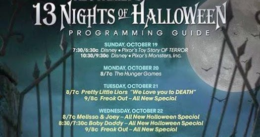 disney at heart 13 nights of halloween on abc family