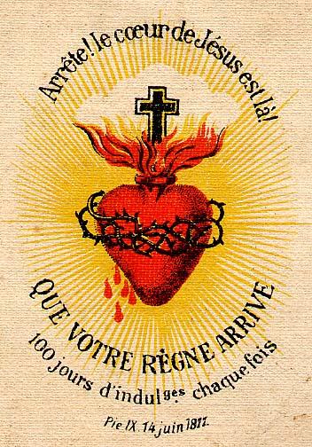 Le coeur de Jésus