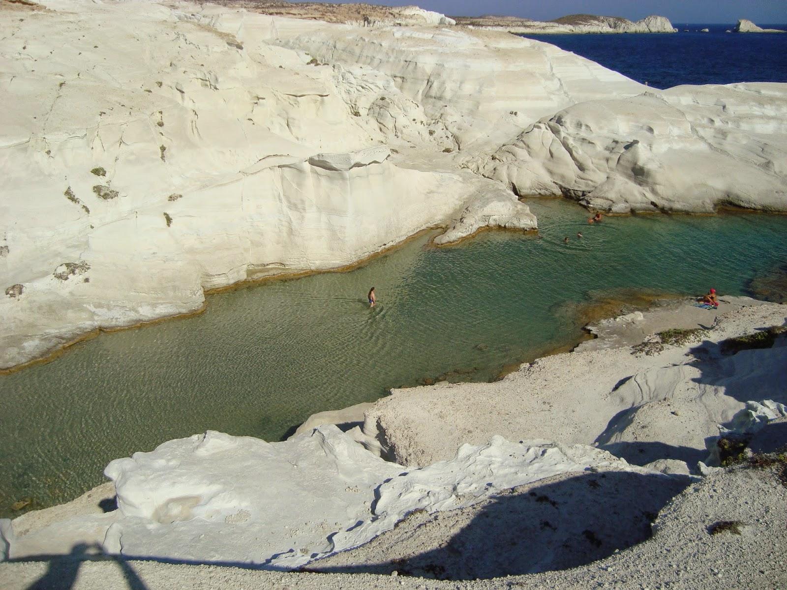 Греческий пляж Саракинико