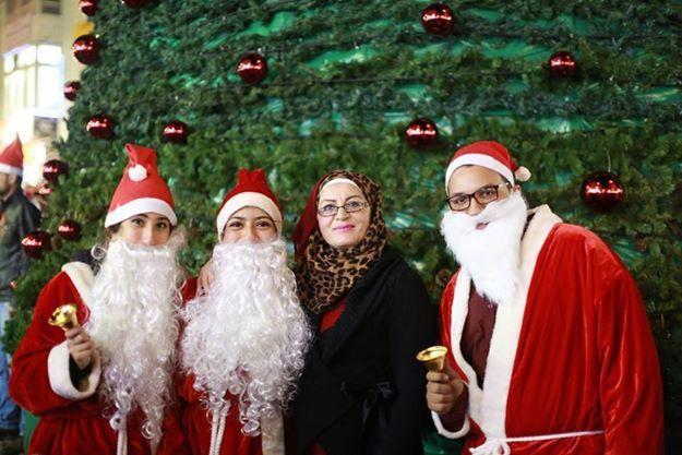 FOTO:Perayaan Natal Di Palestina 2014-2015